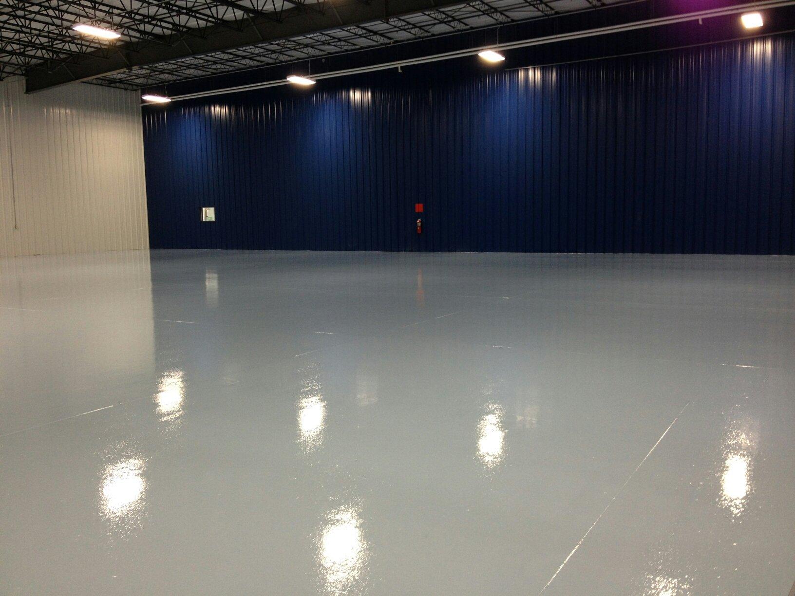 Industrial Safety Coatings - Epoxy Floor Coating Contractors