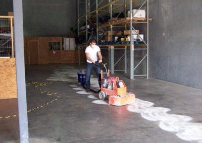 Epoxy Floor Prep Warehouse